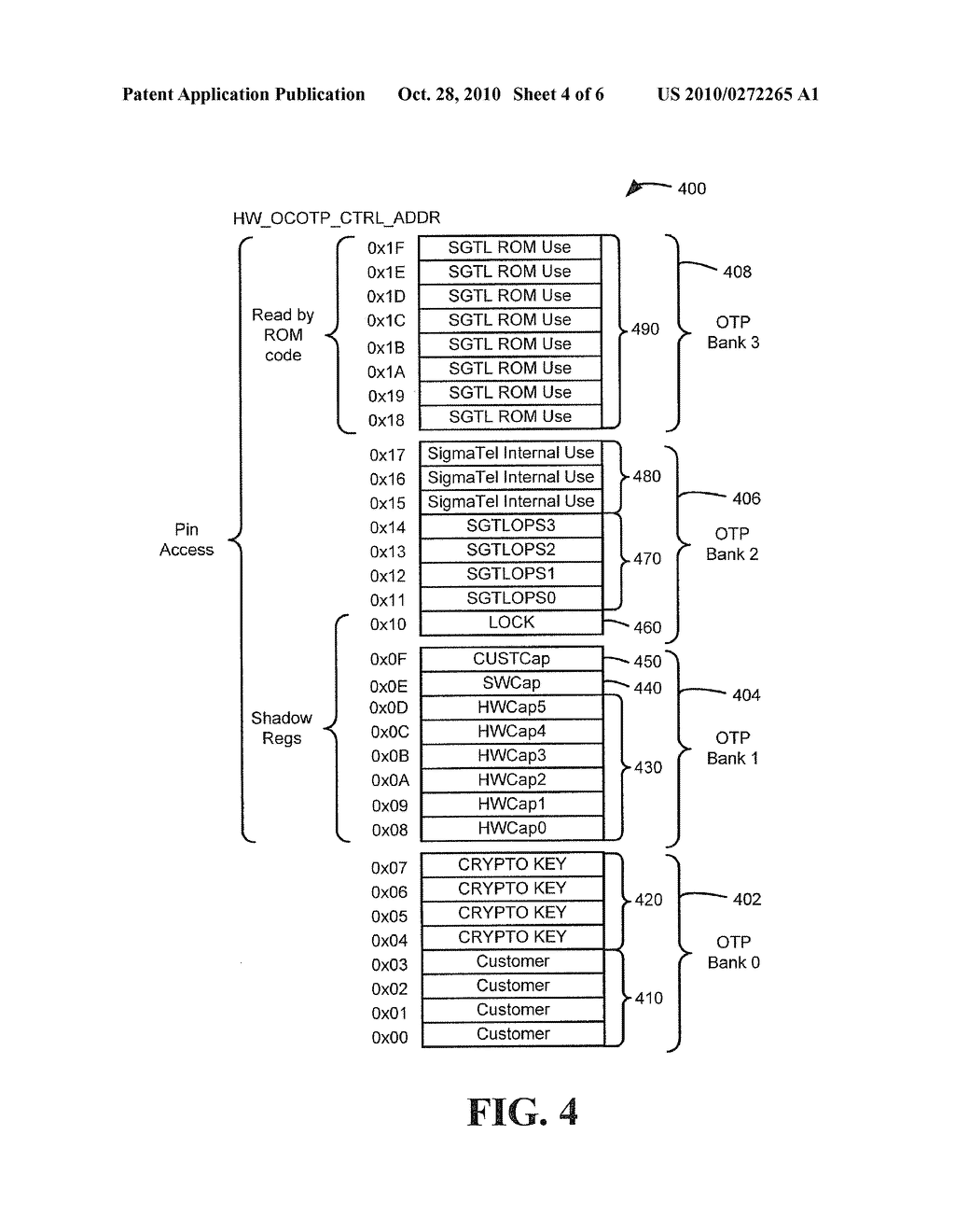 SYSTEM AND METHOD TO CONTROL ONE TIME PROGRAMMABLE MEMORY - diagram, schematic, and image 05