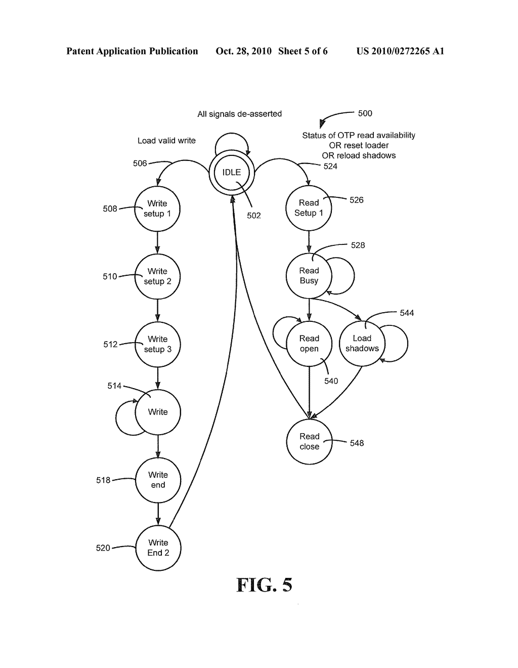 SYSTEM AND METHOD TO CONTROL ONE TIME PROGRAMMABLE MEMORY - diagram, schematic, and image 06