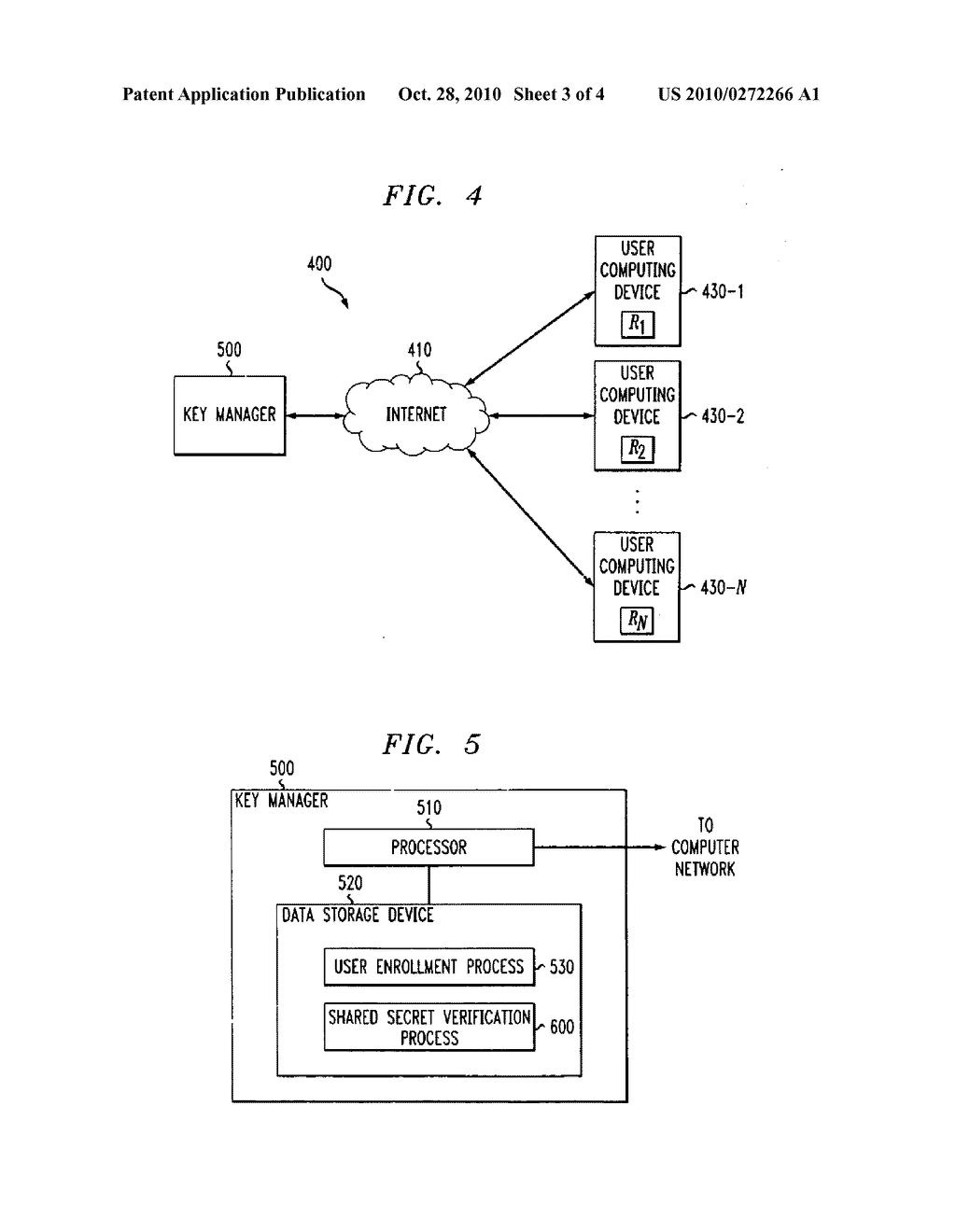 Method for secure key management using multi-threshold secret sharing - diagram, schematic, and image 04