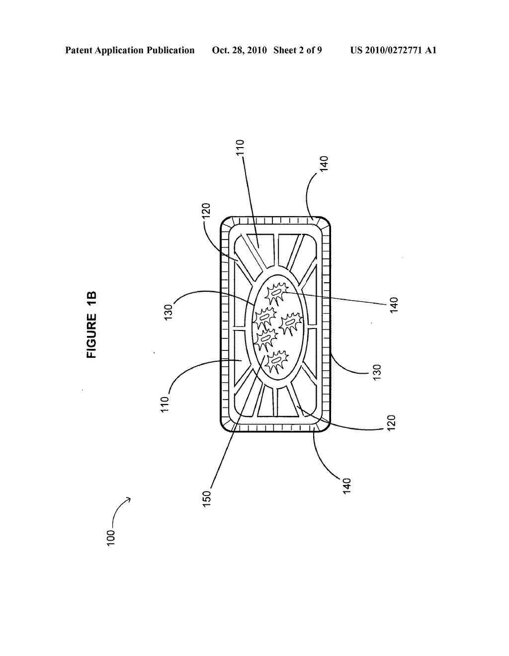 Device including bone cage and method for treatment of disease in a subject - diagram, schematic, and image 03