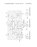Melt Channel Geometries for an Injection Molding System diagram and image