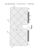Quilted Fabric Towel Steam Pocket For A Steam Appliance diagram and image