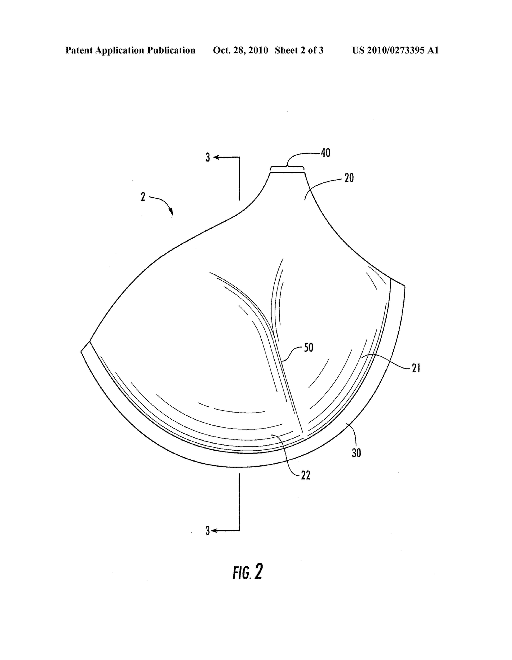 bra cup for increasing visual appearance of breast size, and brassiere  incorporating the same - diagram, schematic, and image 03