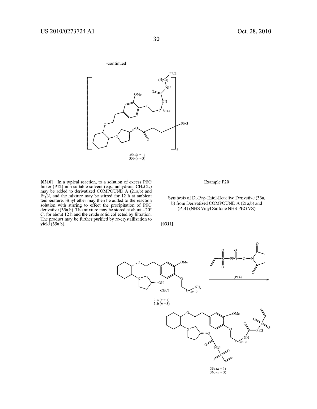 PEGYLATED ION CHANNEL MODULATING COMPOUNDS - diagram, schematic, and image 31
