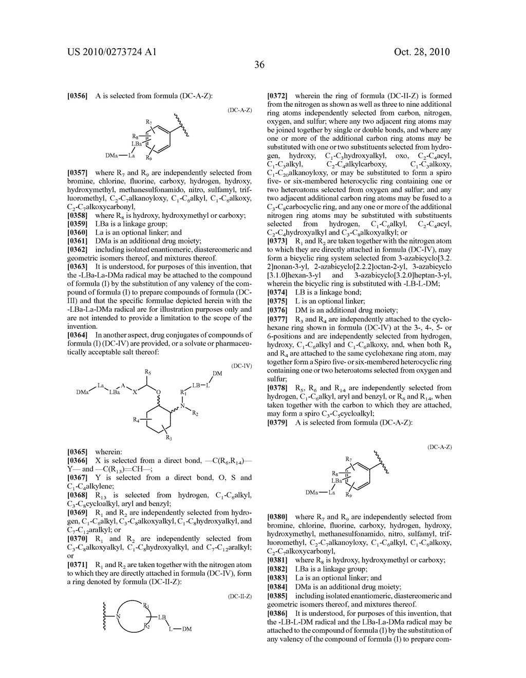 PEGYLATED ION CHANNEL MODULATING COMPOUNDS - diagram, schematic, and image 37