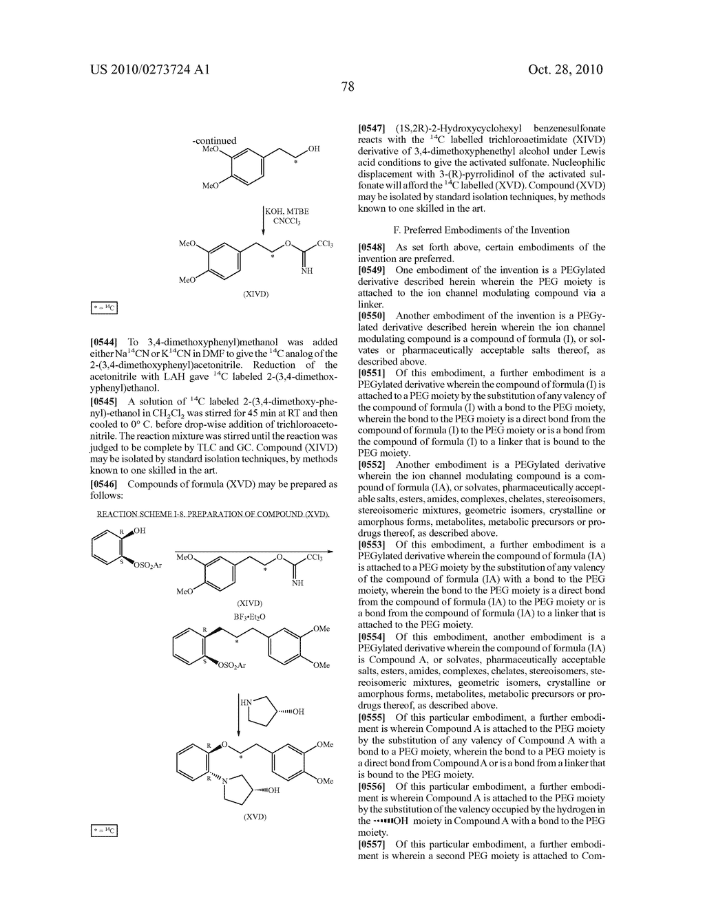 PEGYLATED ION CHANNEL MODULATING COMPOUNDS - diagram, schematic, and image 79