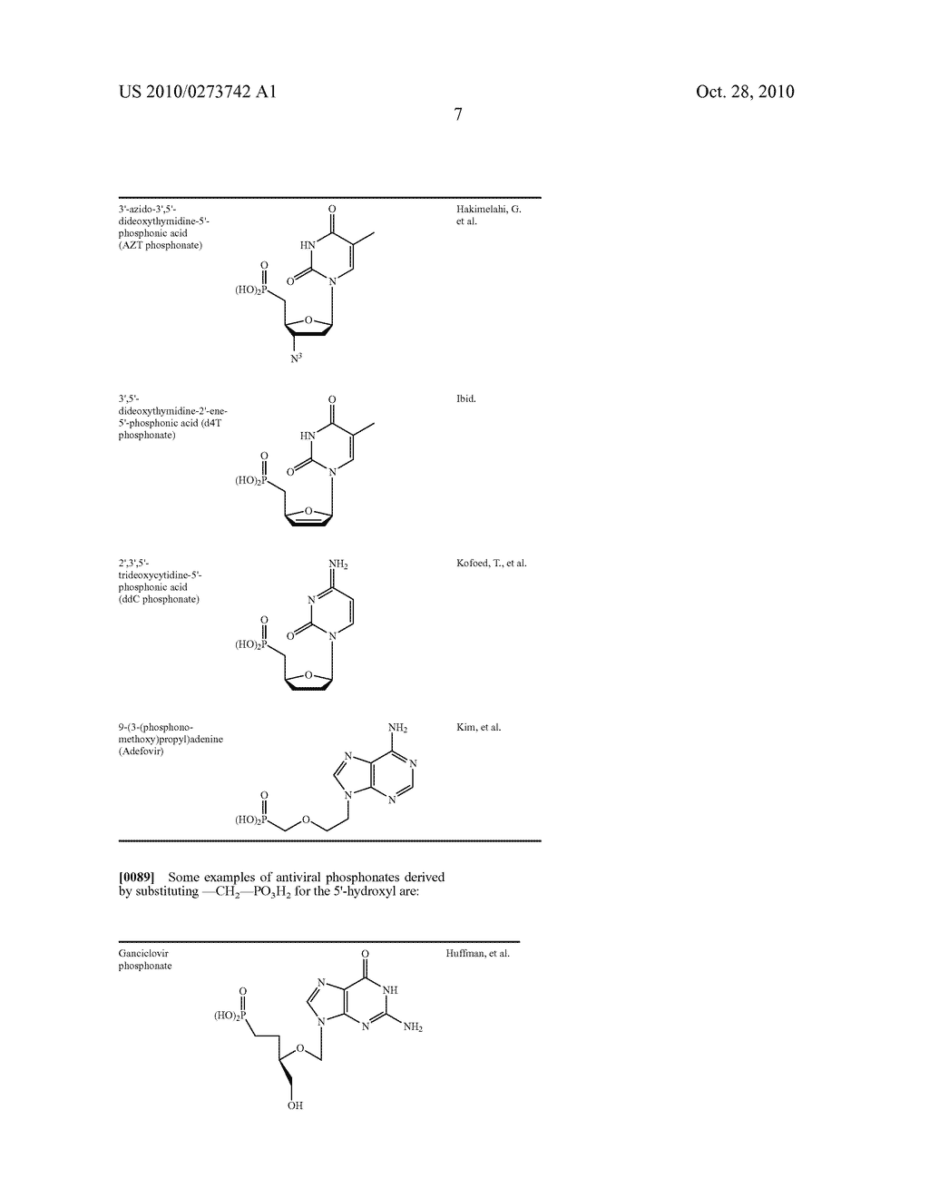 Pharmacologically Active Agents Containing Esterified Phosphonates and Methods for Use Thereof - diagram, schematic, and image 08