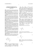 Method for the production of 2-fluoroacyl-3-aminoacrylic acid derivatives diagram and image