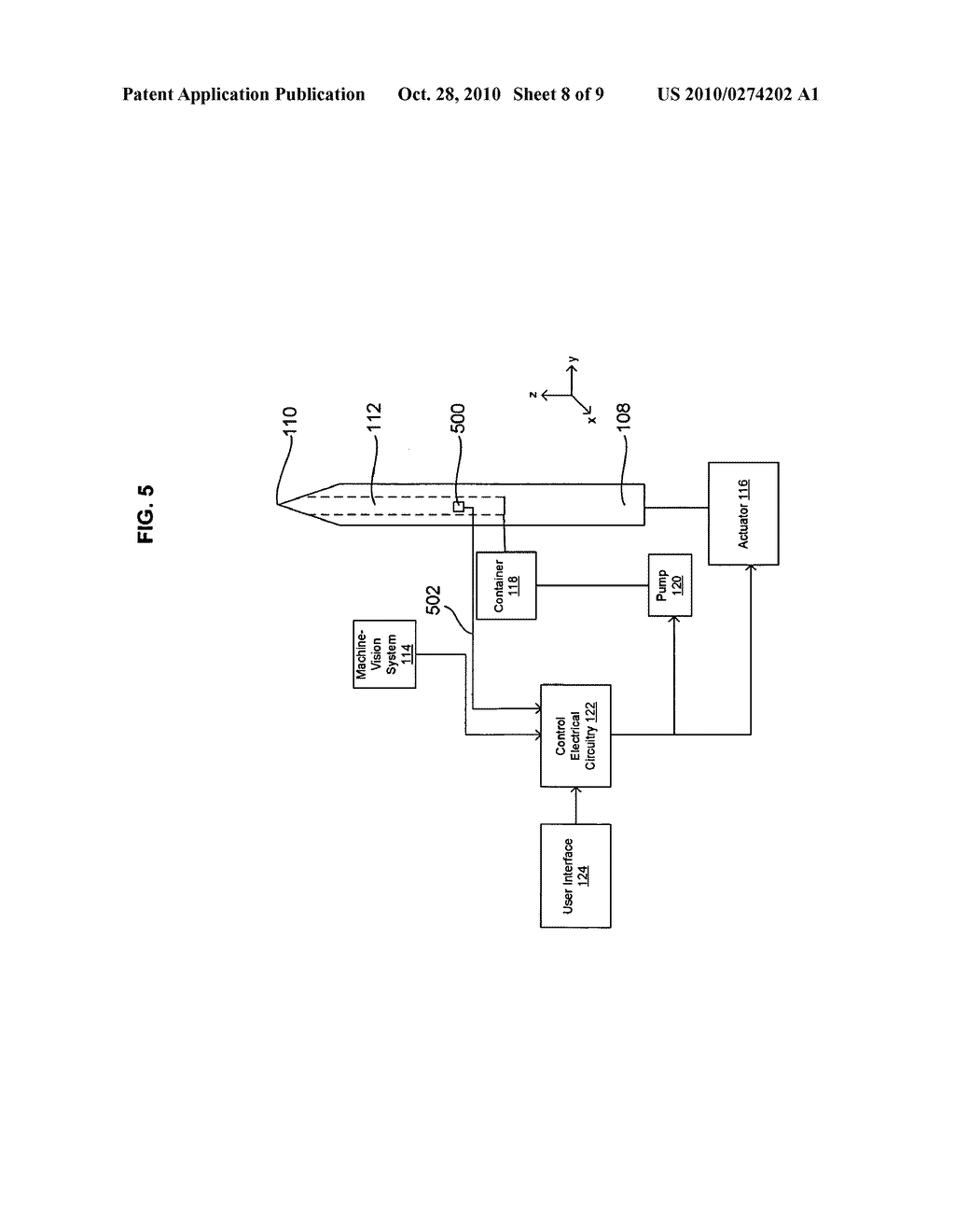 Systems and methods for automatically inserting a needle into a living subject - diagram, schematic, and image 09