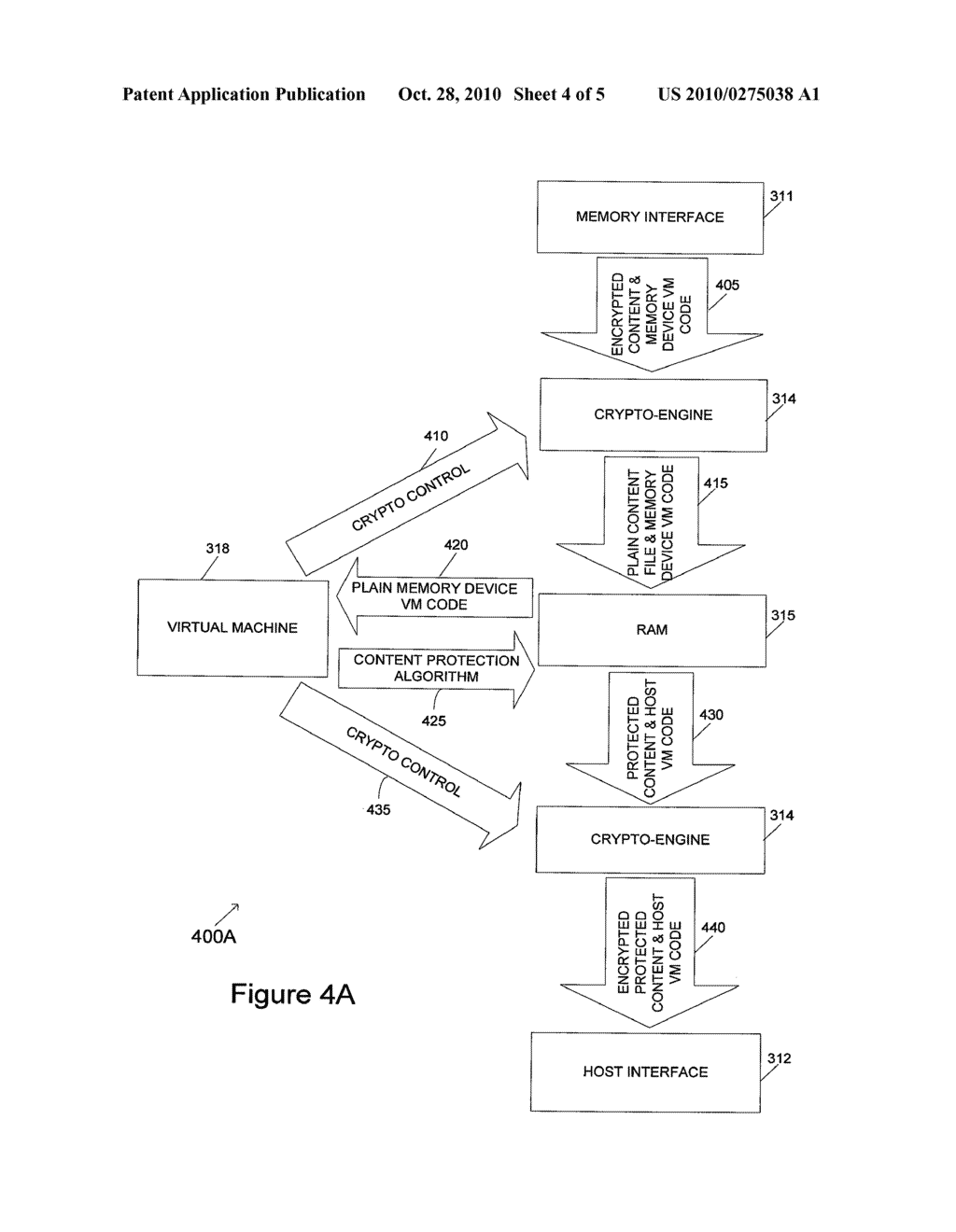 Memory Device and Method for Adaptive Protection of Content - diagram, schematic, and image 05