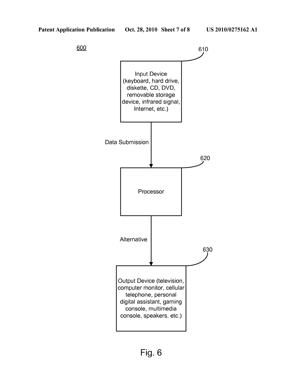 SYSTEM AND METHOD FOR GENERATING SUGGESTED ALTERNATIVES FOR VISUAL OR AUDIBLE SUBMISSIONS - diagram, schematic, and image 08