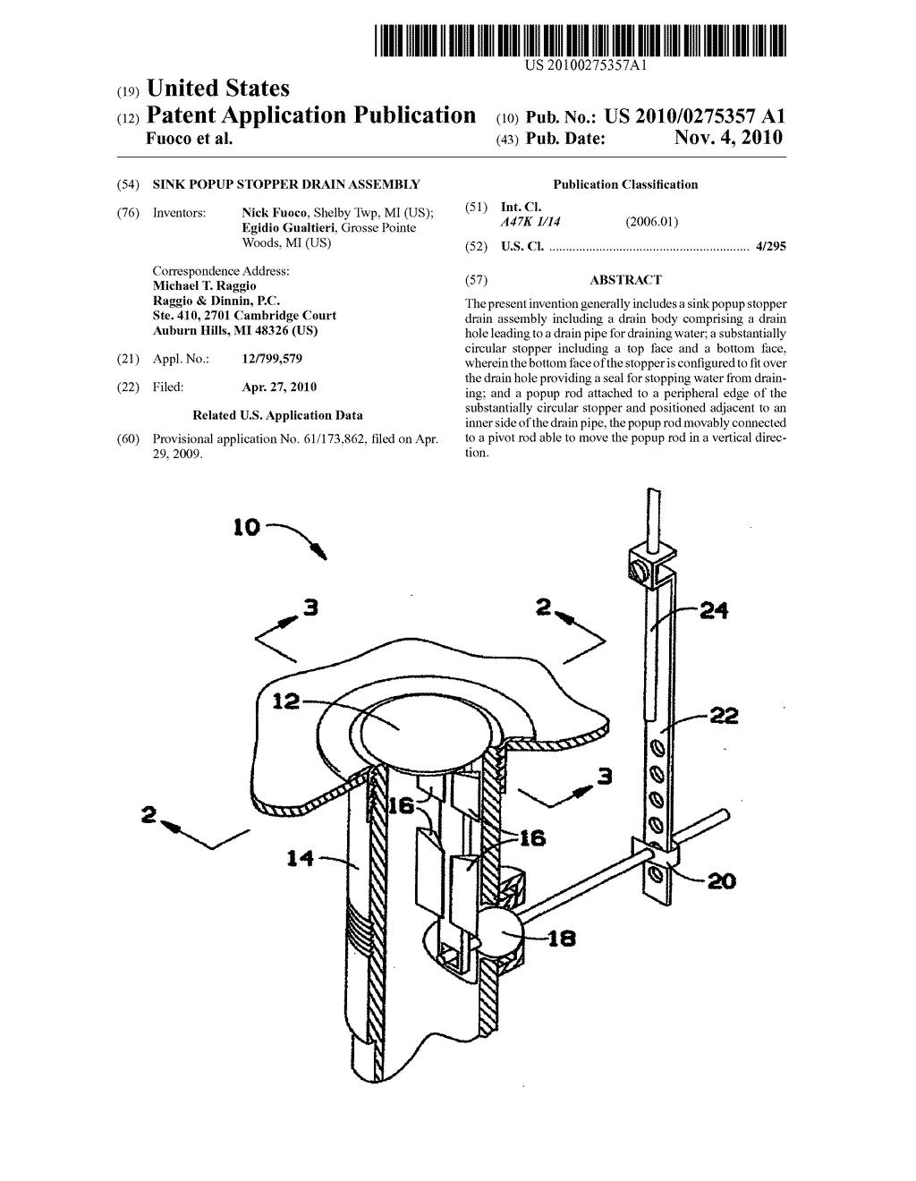 sink popup stopper drain assembly diagram schematic and image 01 rh patentsencyclopedia com sink plumbing parts diagram kitchen sink drain parts diagram