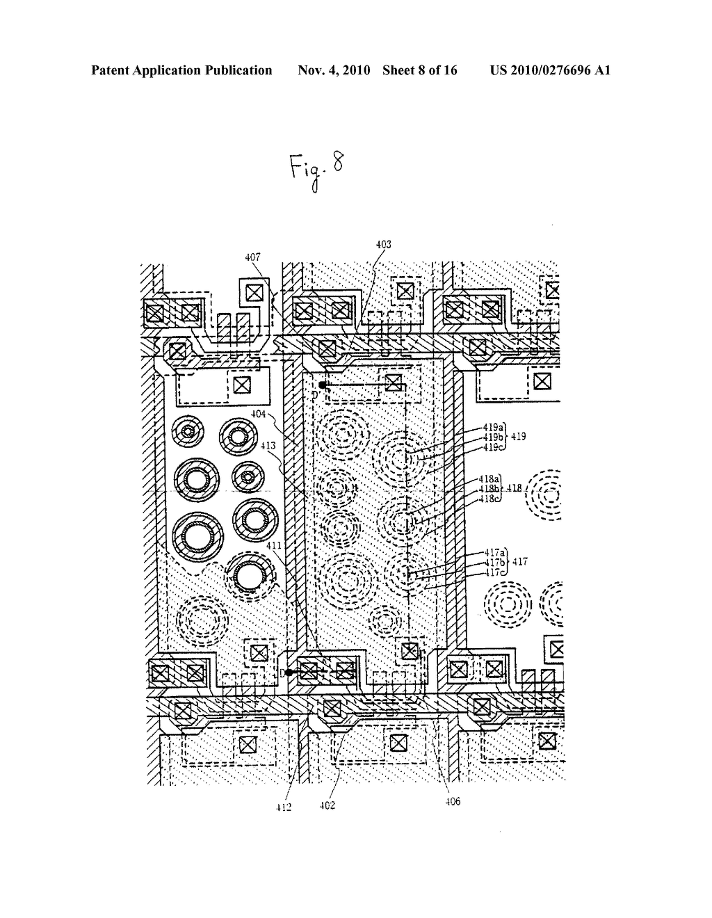 Semiconductor Device and Method of Fabricating the Same - diagram, schematic, and image 09