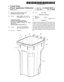 WASTE CONTAINER AND RELATED METHOD OF MANUFACTURE diagram and image
