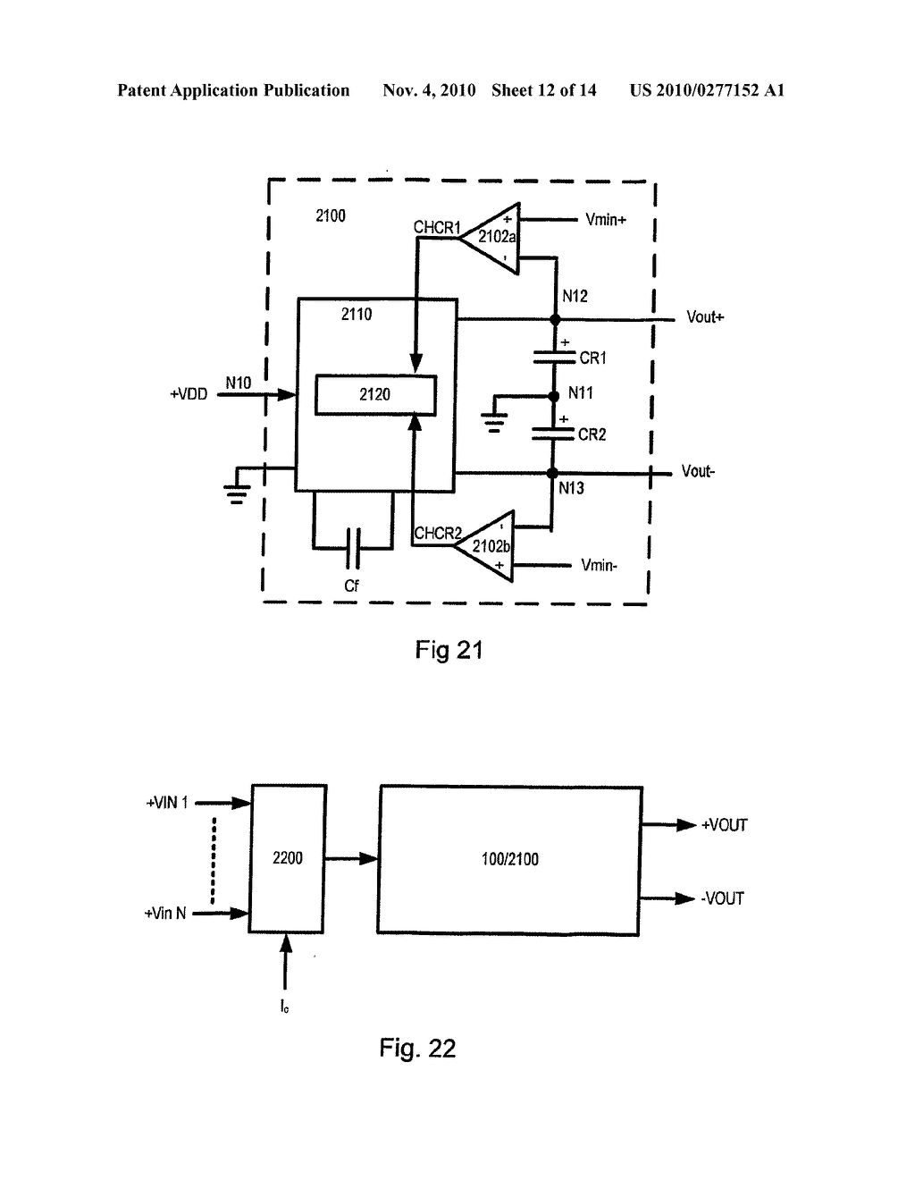 CHARGE PUMP CIRCUIT AND METHODS OF OPERATION THEREOF - diagram, schematic, and image 13