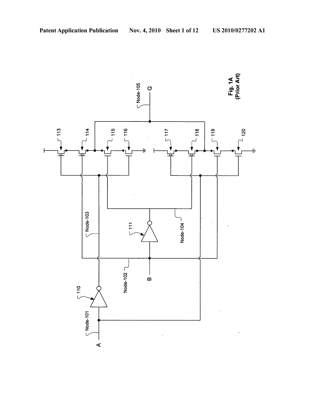 Circuitry and Layouts for XOR and XNOR Logic - diagram, schematic, and  image 02