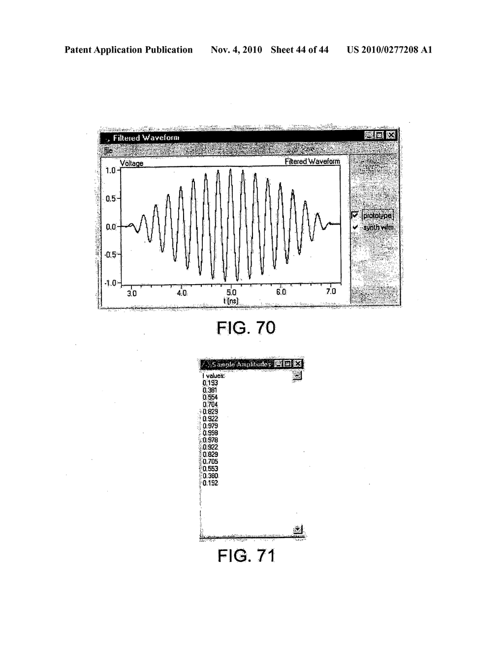 METHOD AND APPARATUS FOR GENERATING RF WAVEFORMS HAVING AGGREGATE ENERGY WITH DESIRED SPECTRAL CHARACTERISTICS - diagram, schematic, and image 45