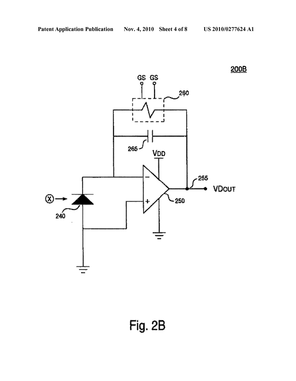 System and Method for Canceling Dark Photocurrent in a Color Sensor Circuit - diagram, schematic, and image 05