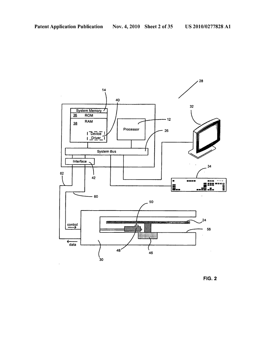 Method and system for fluid mediated disk activation and deactivation - diagram, schematic, and image 03