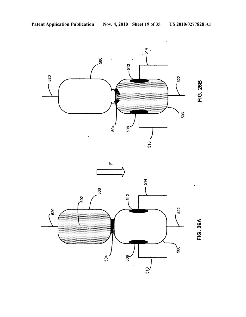 Method and system for fluid mediated disk activation and deactivation - diagram, schematic, and image 20