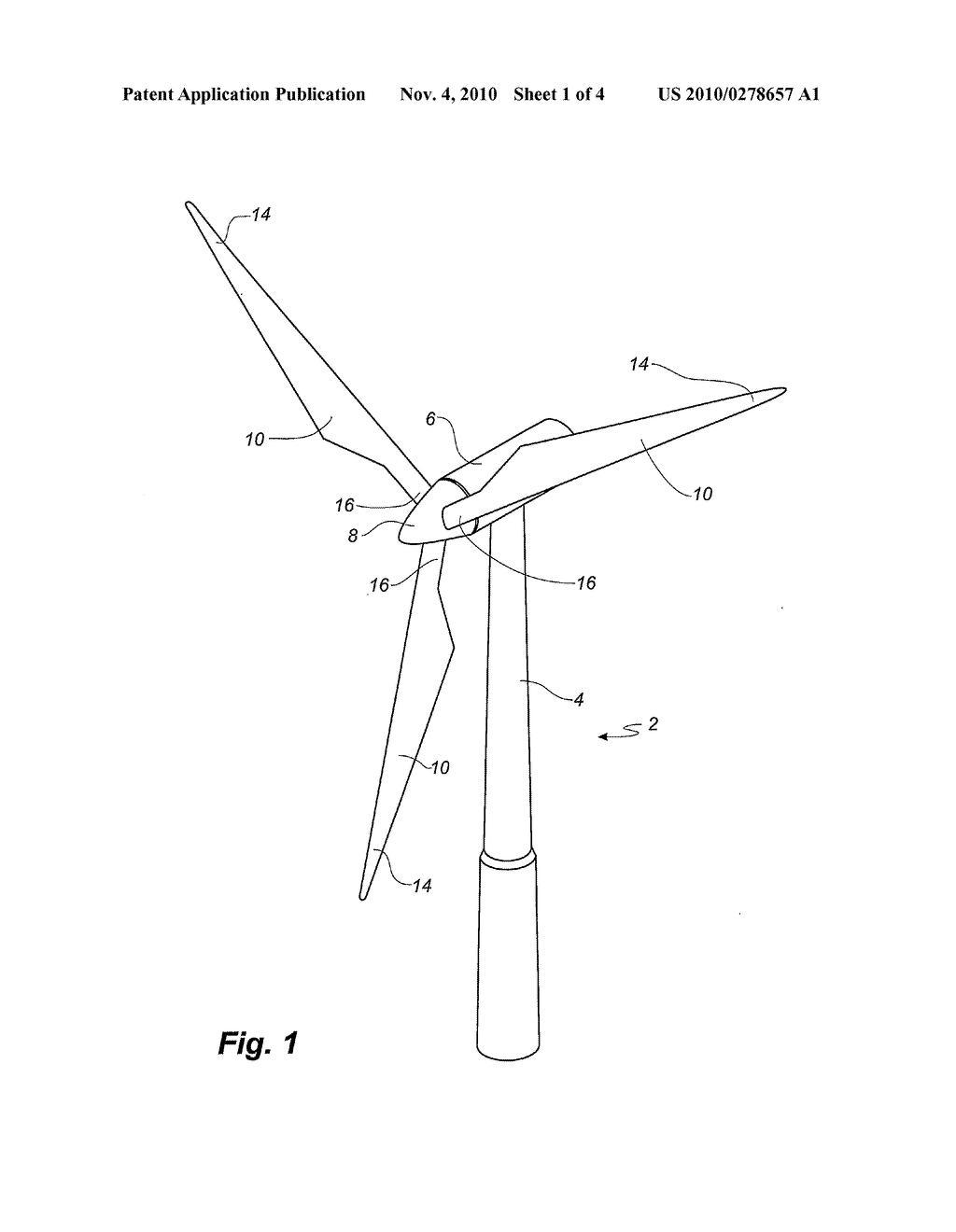 20100278657_02 wind turbine blade and blade element combination and method of