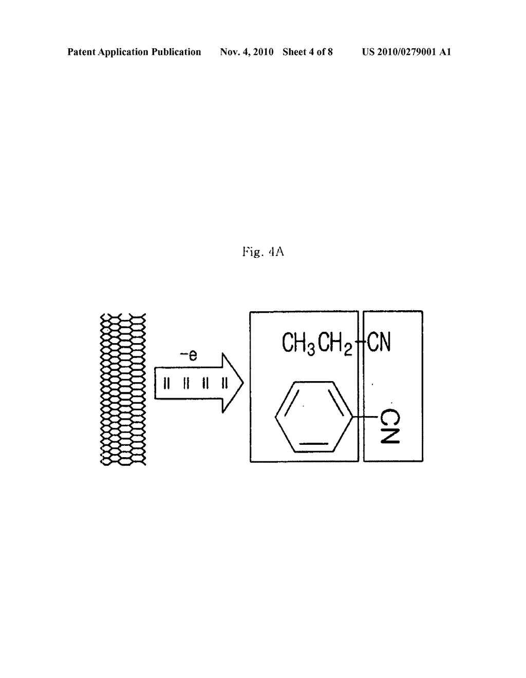 CARBON NANO-TUBE (CNT) THIN FILM TREATED WITH CHEMICAL HAVING ELECTRON WITHDRAWING FUNCTIONAL GROUP AND MANUFACTURING METHOD THEREOF - diagram, schematic, and image 05