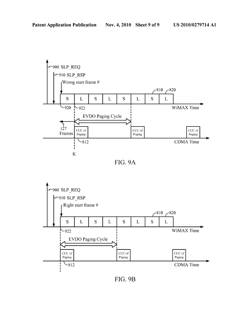 20100279714_10 methods and systems for cdma evdo paging interval alignment with an