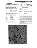 PROCESS FOR SYNTHESIZING CUBIC METALLIC NANOPARTICLES IN THE PRESENCE OF TWO REDUCING AGENTS diagram and image
