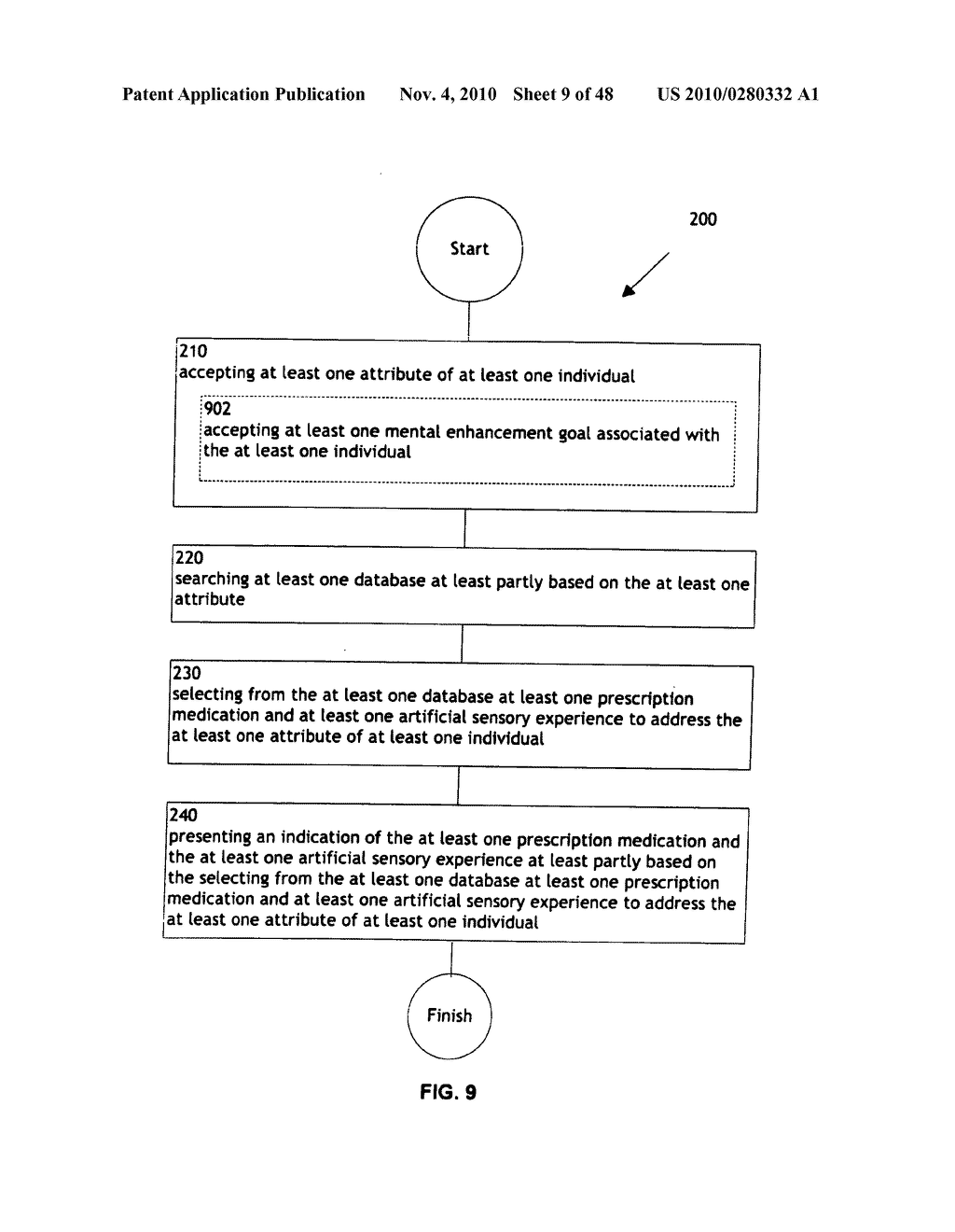 Methods and systems for monitoring bioactive agent use - diagram, schematic, and image 10