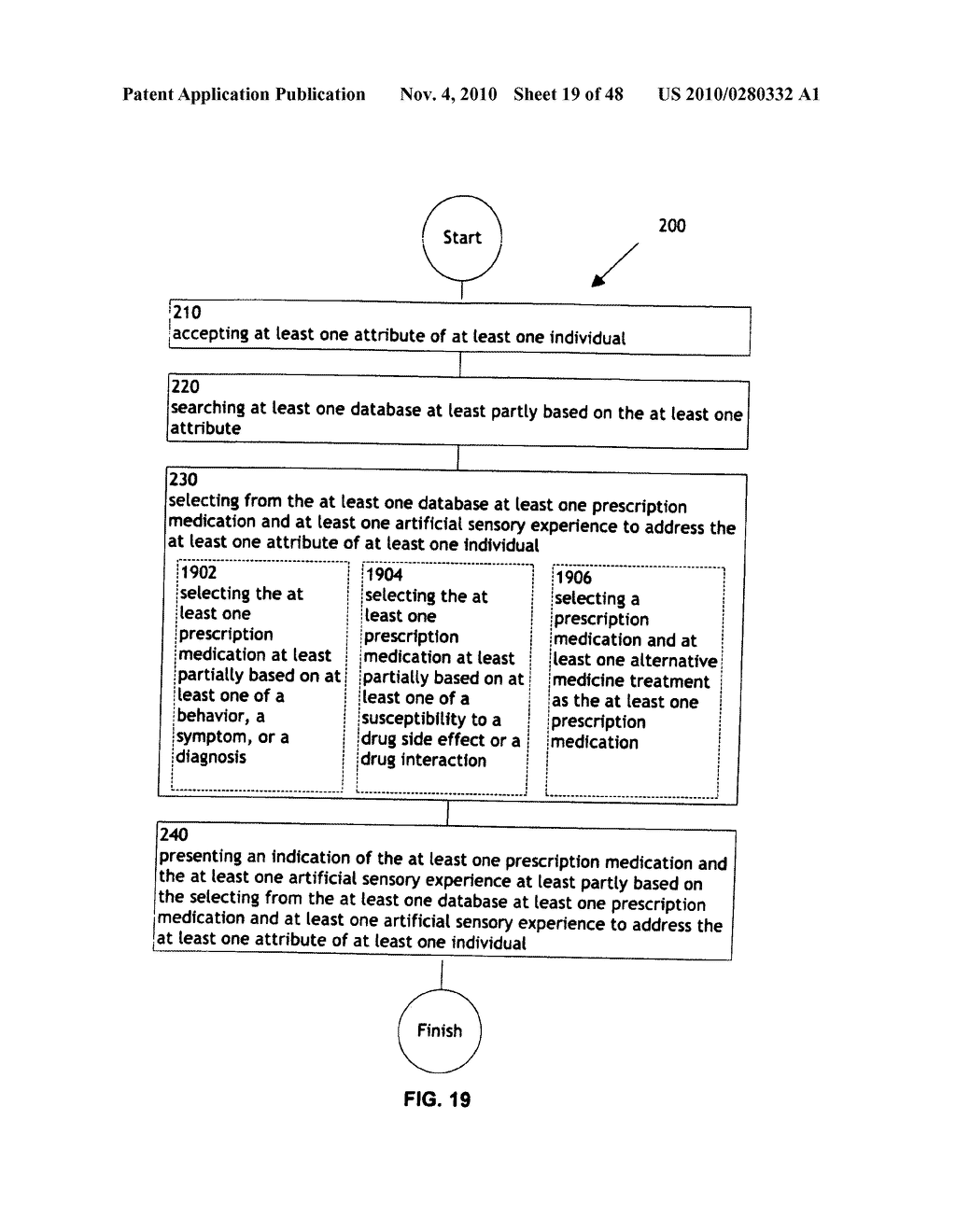 Methods and systems for monitoring bioactive agent use - diagram, schematic, and image 20