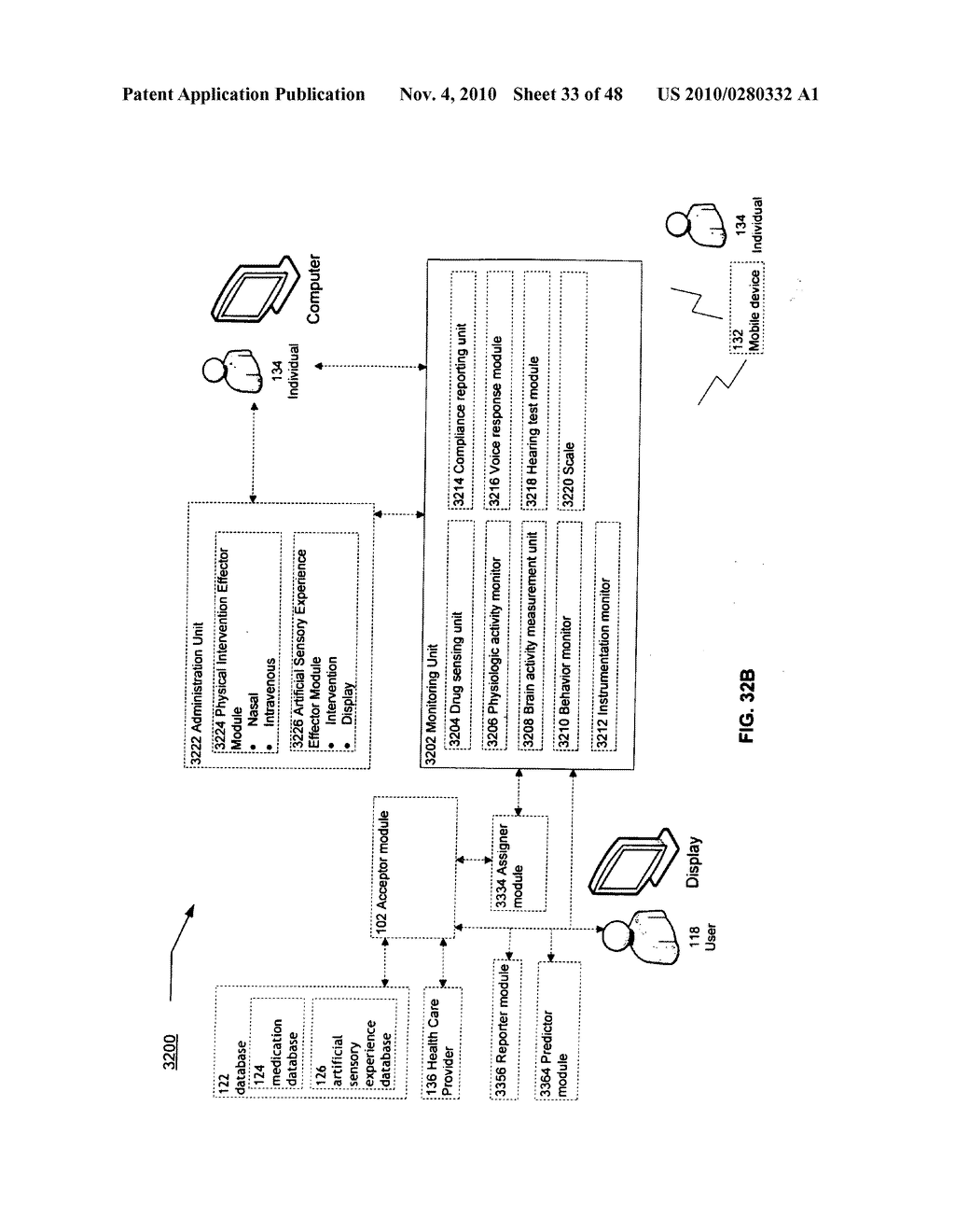 Methods and systems for monitoring bioactive agent use - diagram, schematic, and image 34