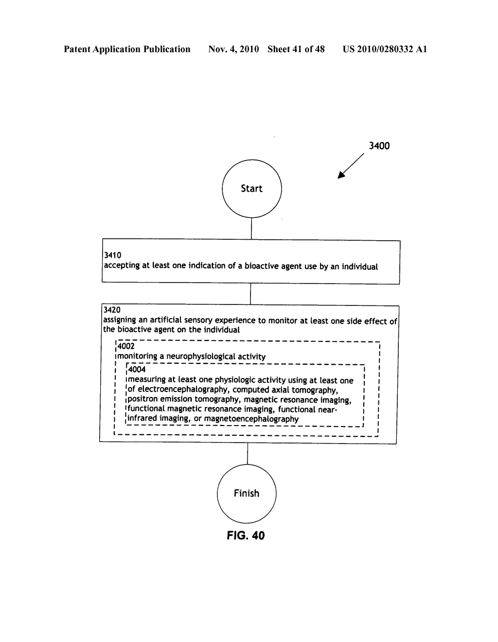 Methods and systems for monitoring bioactive agent use - diagram, schematic, and image 42