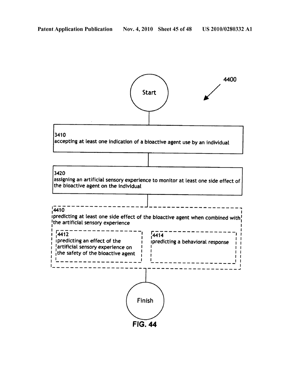 Methods and systems for monitoring bioactive agent use - diagram, schematic, and image 46