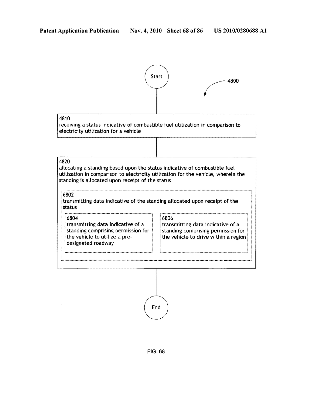Awarding standings to a vehicle based upon one or more fuel utilization characteristics - diagram, schematic, and image 69