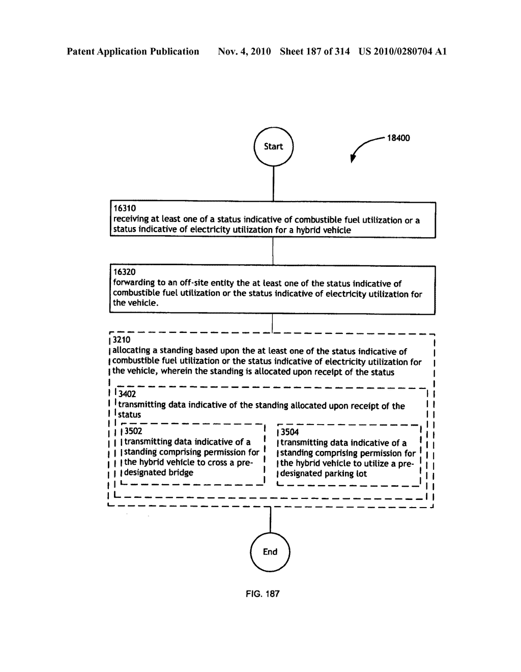 Awarding standings to a vehicle based upon one or more fuel utilization characteristics - diagram, schematic, and image 188