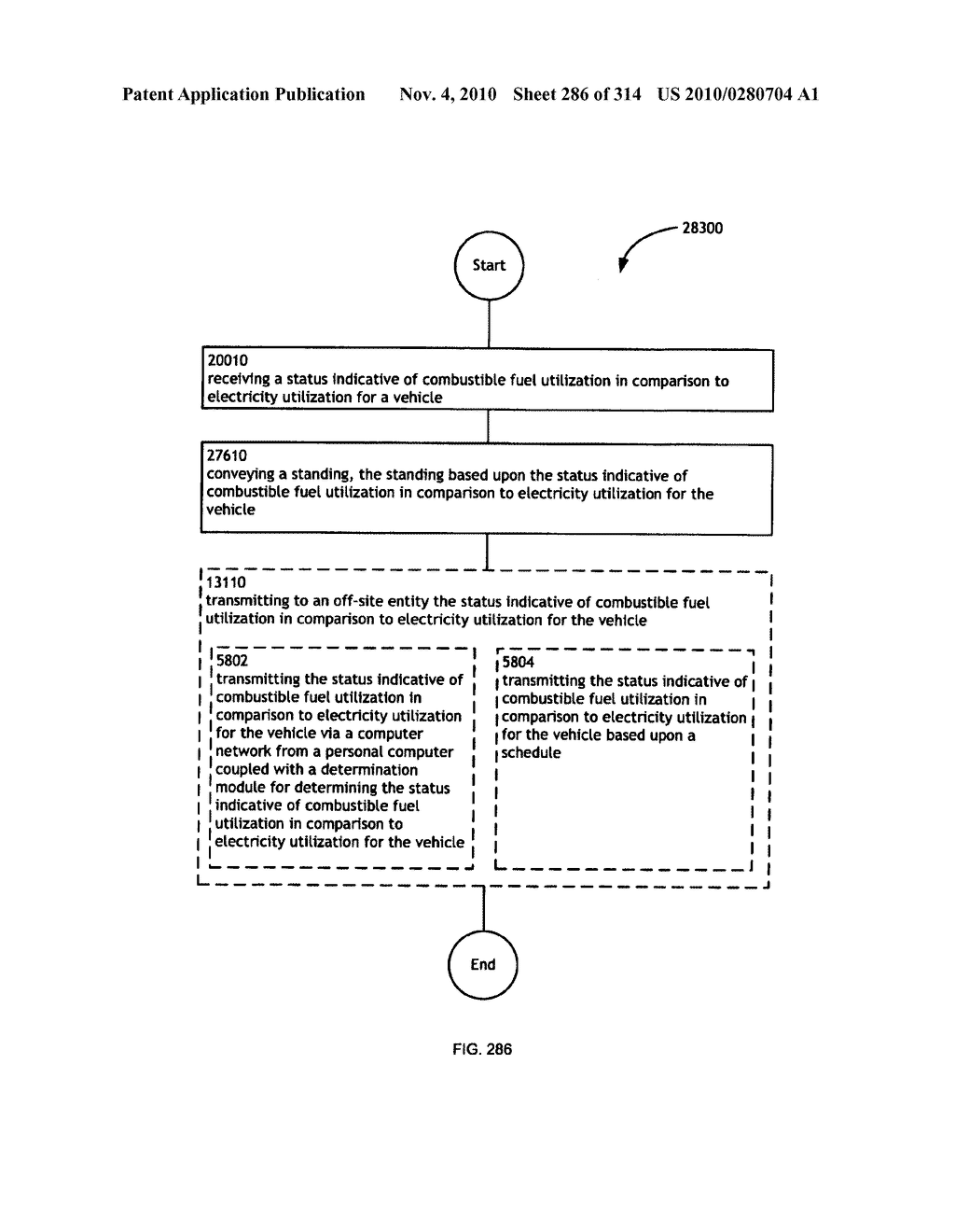 Awarding standings to a vehicle based upon one or more fuel utilization characteristics - diagram, schematic, and image 287
