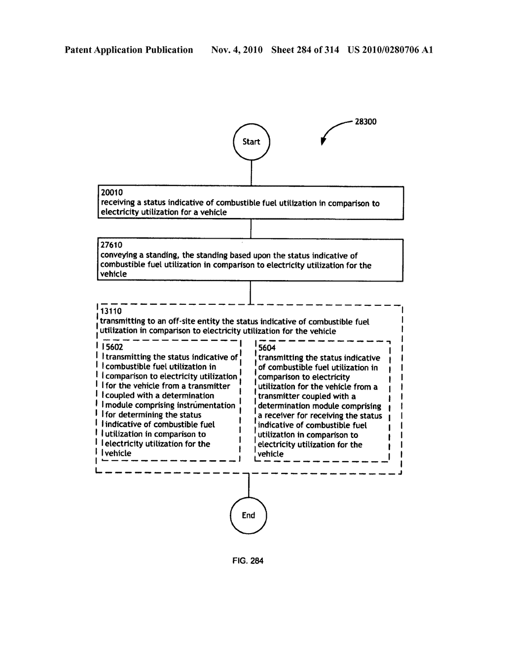 Awarding standings to a vehicle based upon one or more fuel utilization characteristics - diagram, schematic, and image 285