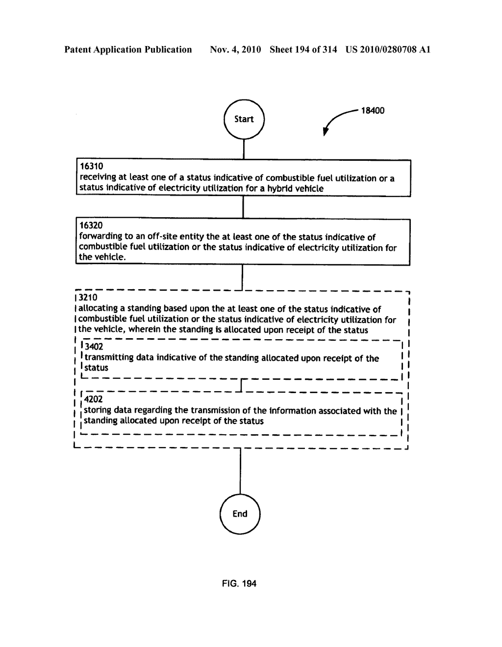 Awarding standings to a vehicle based upon one or more fuel utilization characteristics - diagram, schematic, and image 195