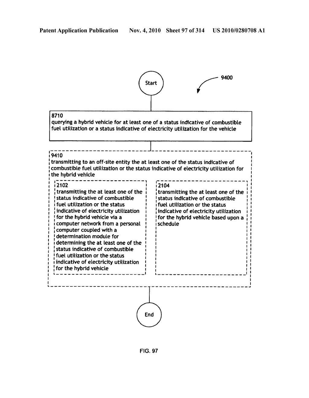 Awarding standings to a vehicle based upon one or more fuel utilization characteristics - diagram, schematic, and image 98