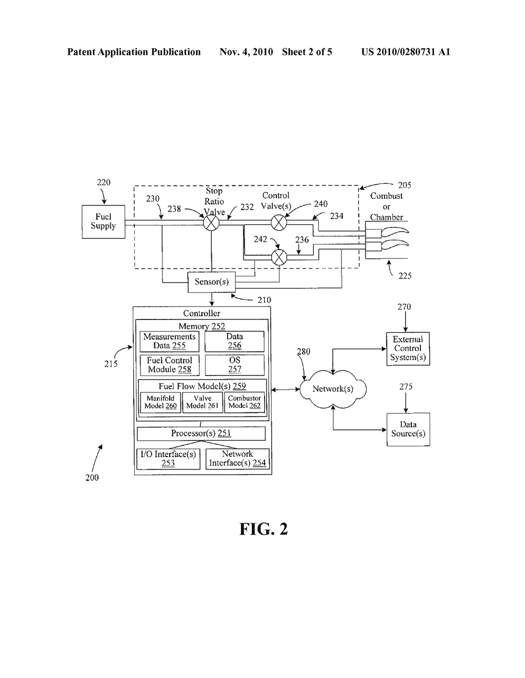SYSTEMS AND METHODS FOR CONTROLLING FUEL FLOW TO A TURBINE COMPONENT - diagram, schematic, and image 03