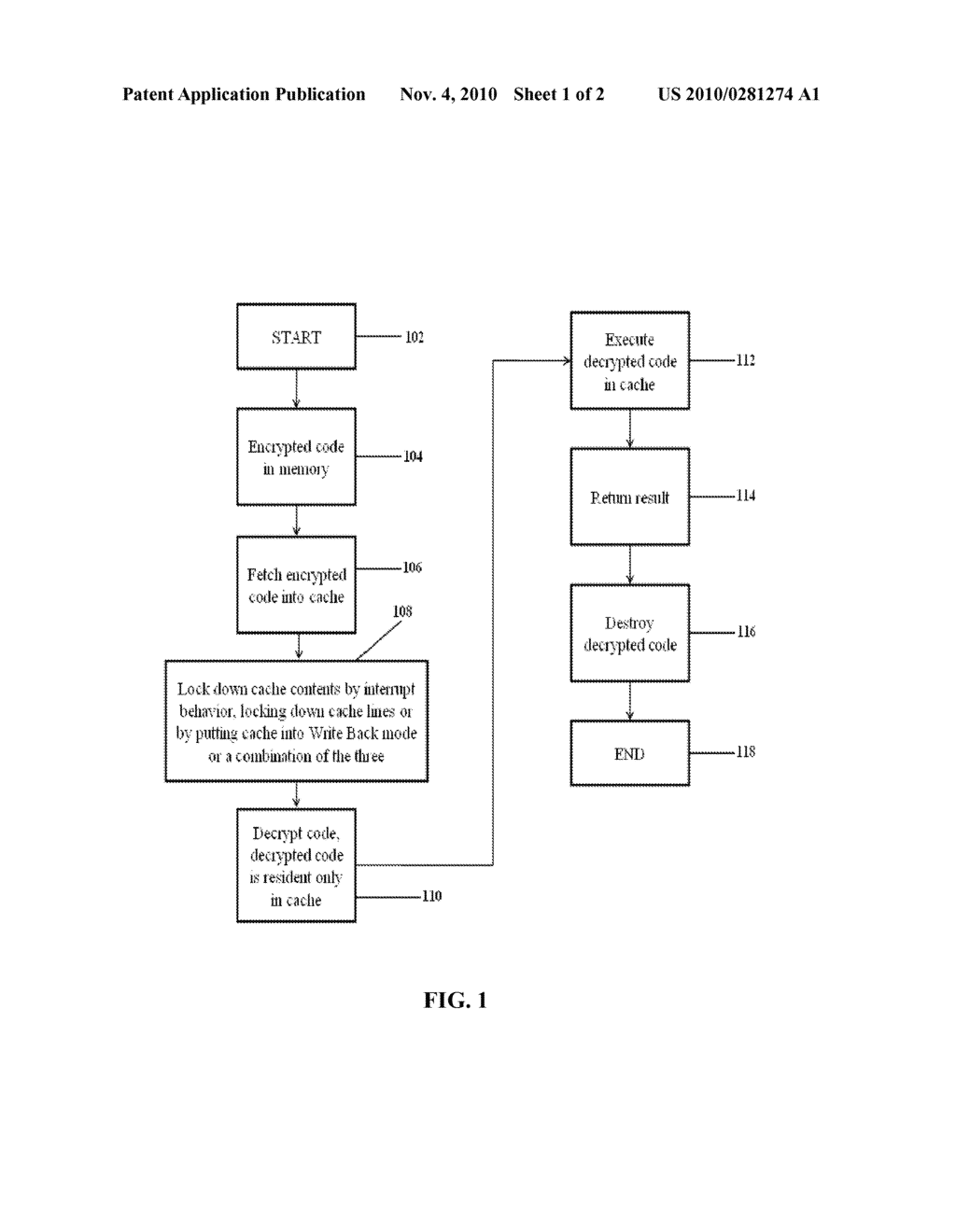System and Method for Executing Code Securely in General Purpose Computer - diagram, schematic, and image 02