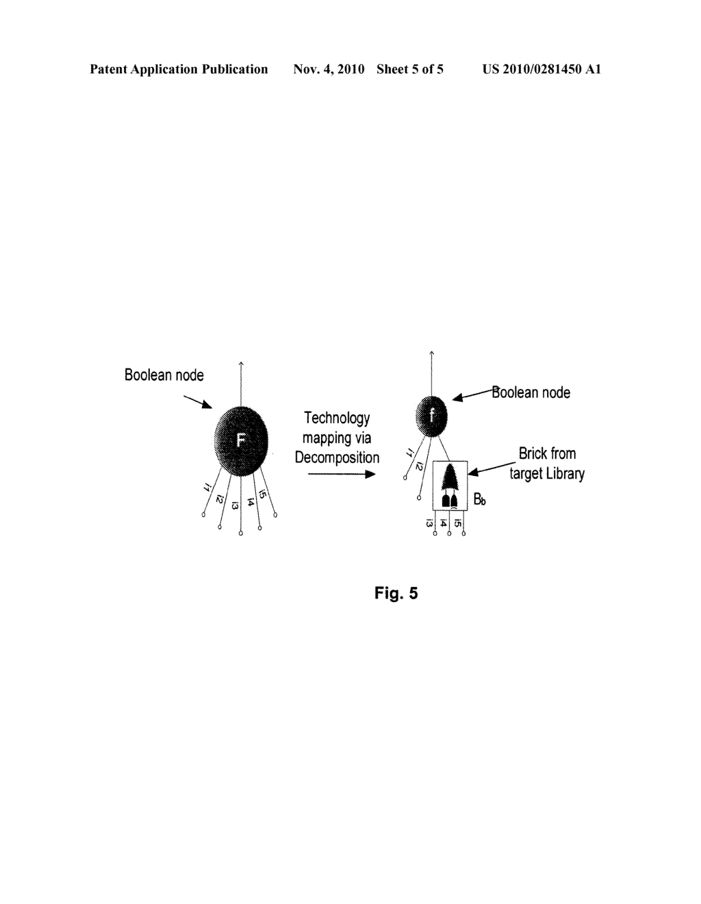 Method And System For Mapping A Boolean Logic Network To Limited Set Of Application Domain Specific Cells Diagram Schematic Image 06