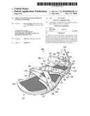 Article of Footwear with Mesh on Outsole and Insert diagram and image