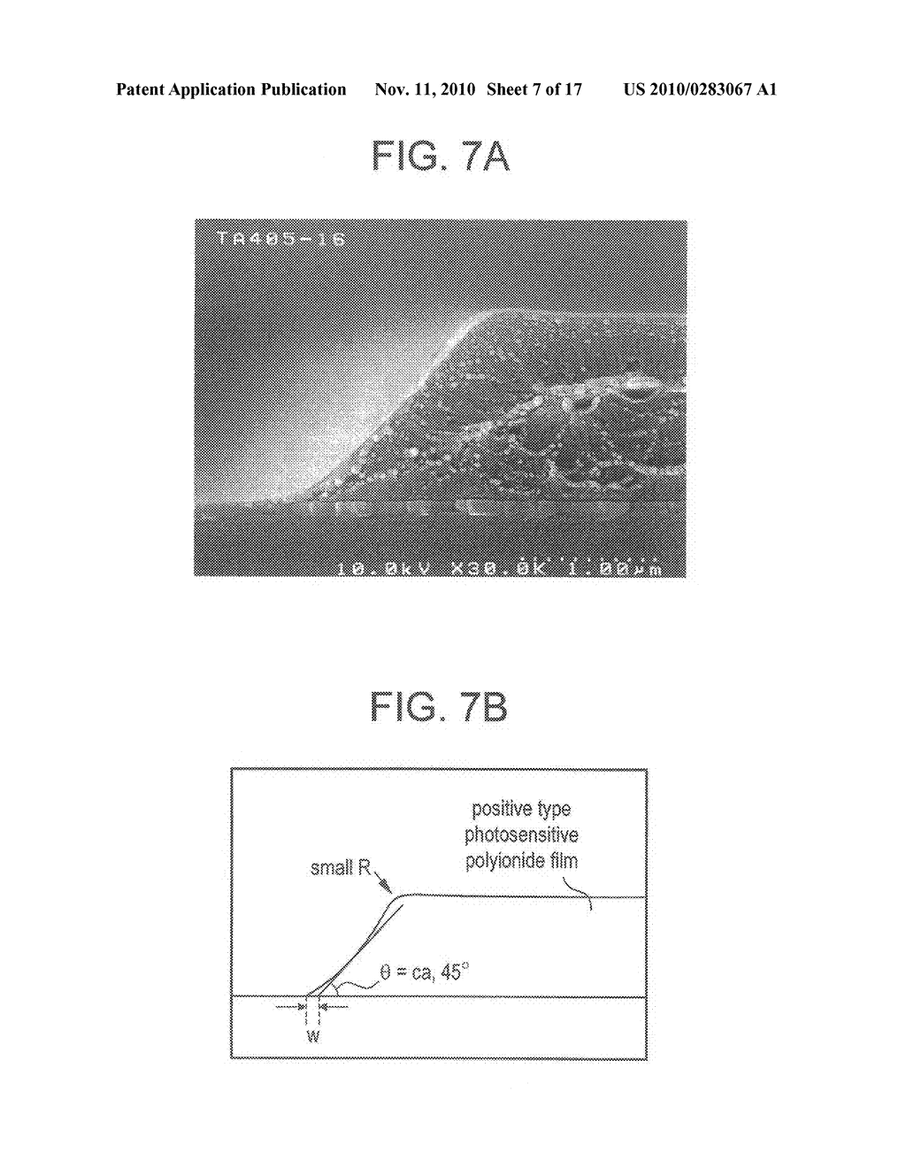 SEMICONDUCTOR ELEMENT AND DISPLAY DEVICE USING THE SAME - diagram, schematic, and image 08