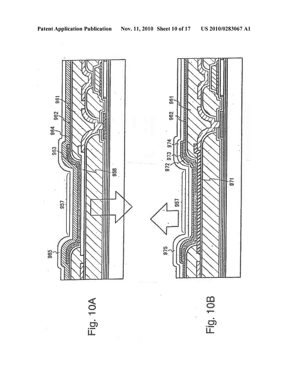 SEMICONDUCTOR ELEMENT AND DISPLAY DEVICE USING THE SAME - diagram, schematic, and image 11