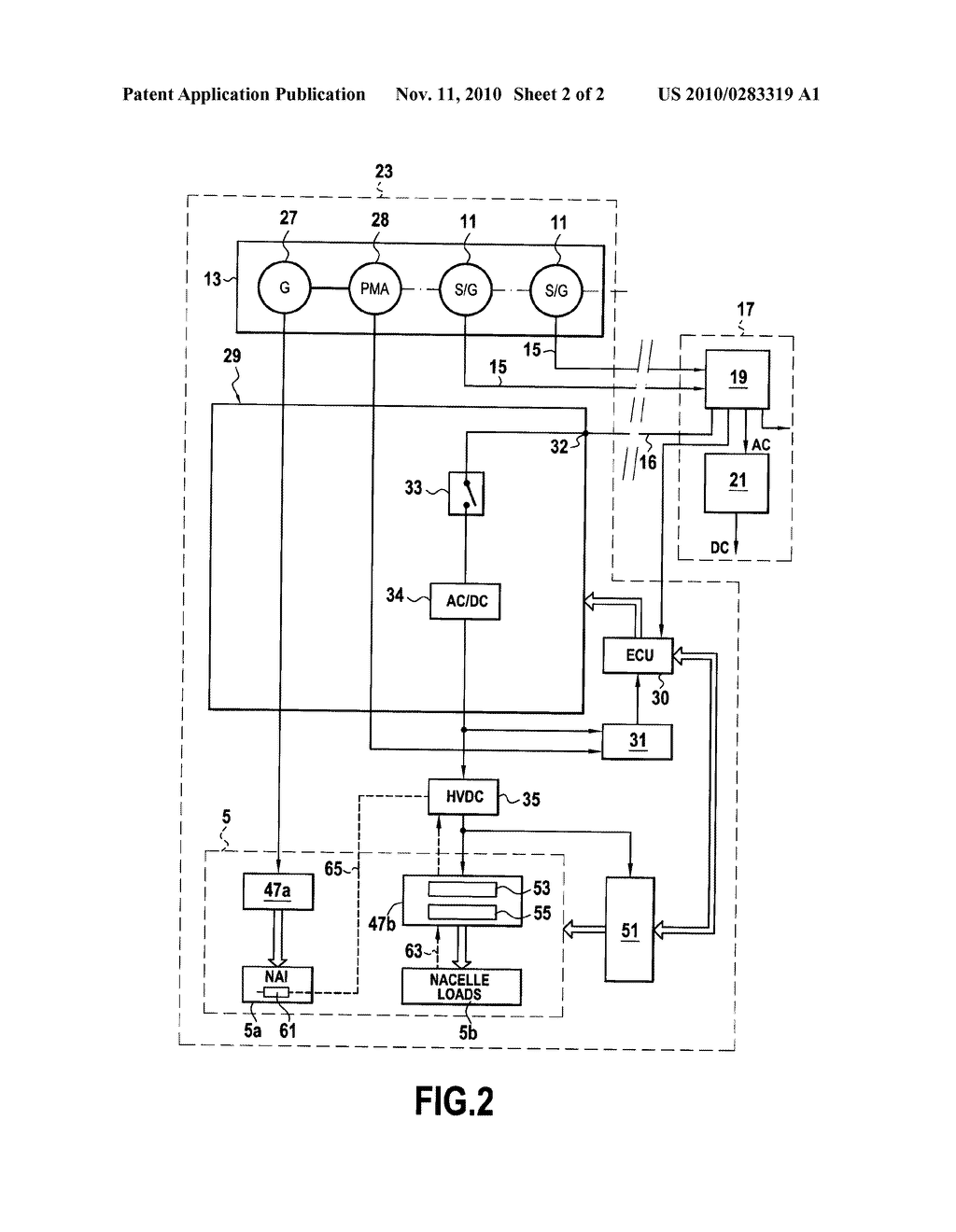 Electrical Power Supply Circuit In An Aircraft For Lectric Diagram Drawing Equipment Including A De Icing Schematic And Image 03