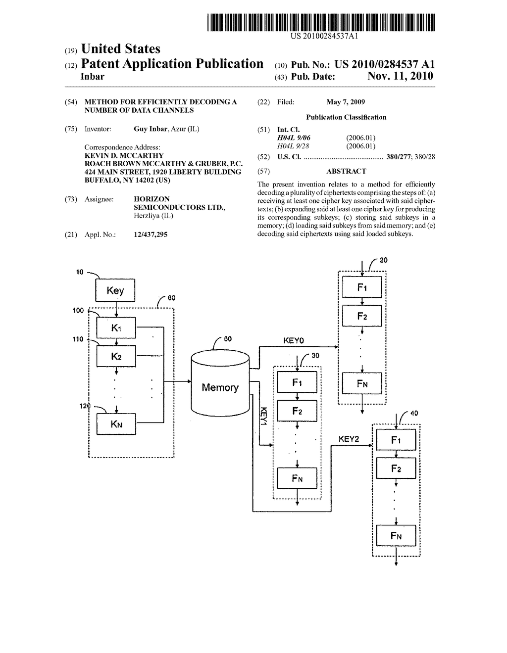 Method for efficiently decoding a number of data channels - diagram, schematic, and image 01