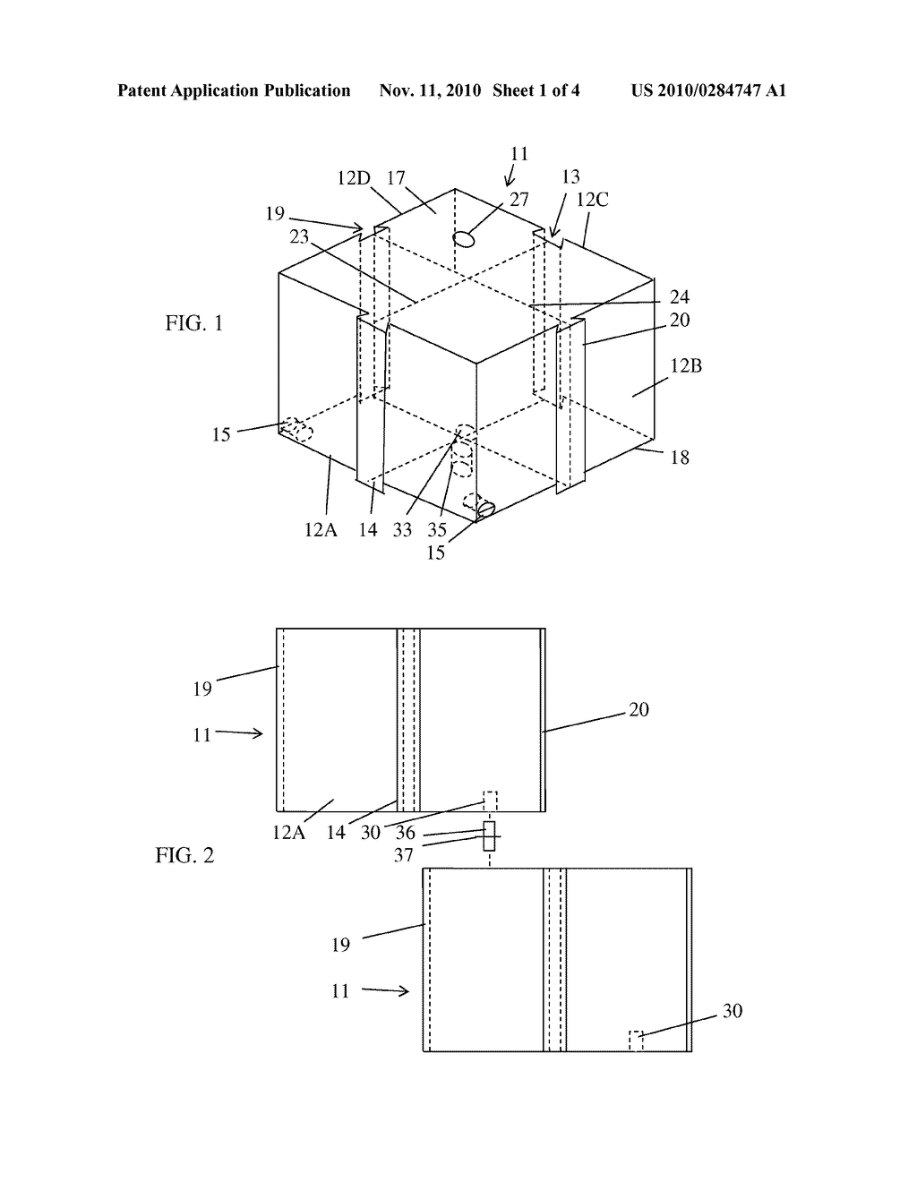 WATER-FILLED BUILDING BLOCK FOR TEMPORARY LEVEE - diagram, schematic, and image 02