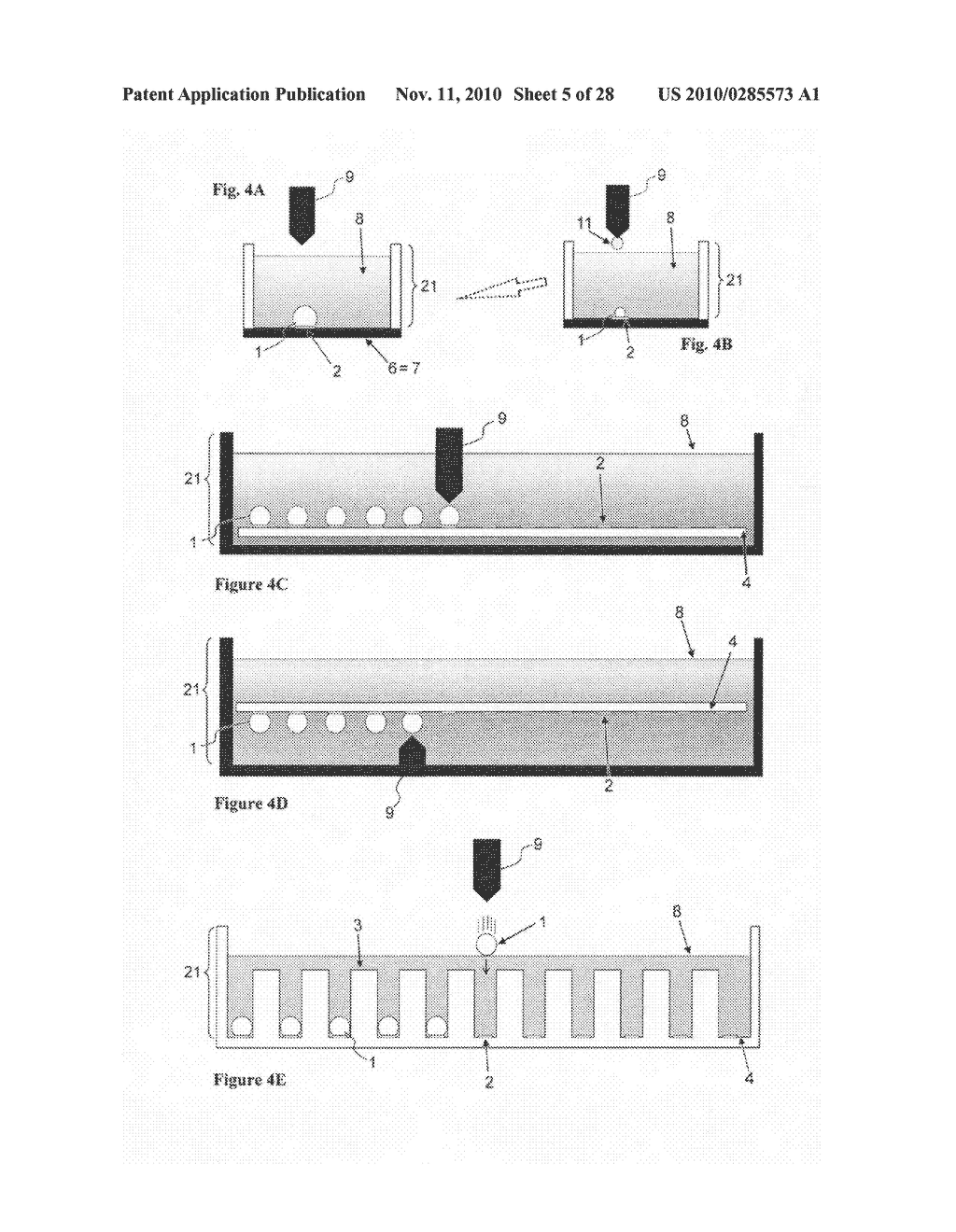Apparatus for processing a sample in a liquid droplet and method of using the same - diagram, schematic, and image 06