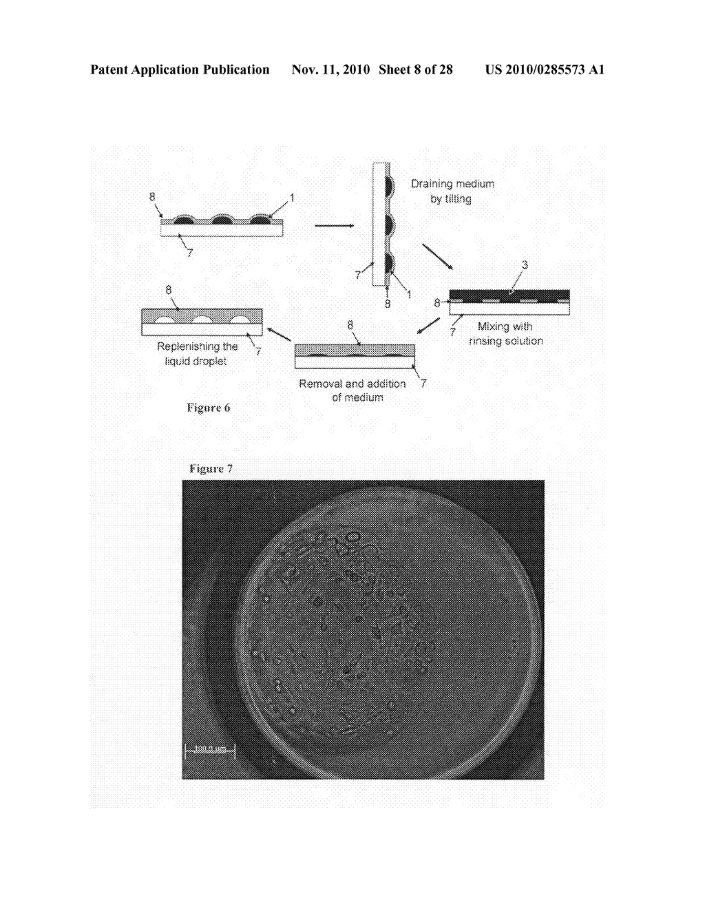 Apparatus for processing a sample in a liquid droplet and method of using the same - diagram, schematic, and image 09